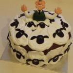 wallace gromit cake